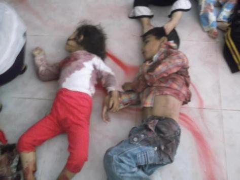 Syria - Houla Massacre an INSIDE JOB by FSA