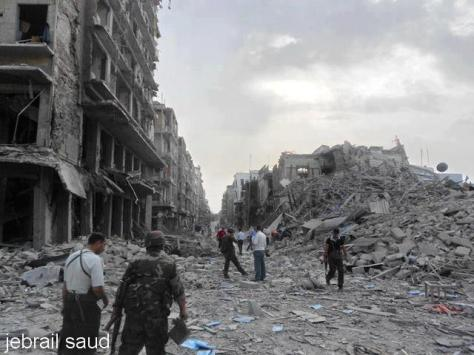 Aleppo under criminal attack of the jihadist groups,   Jabhat Al Nusra (Front  of victory) an Al-Qaeda faction claims the attack