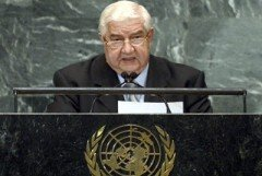 Al-Moallem: Well-Known Countries Pursue New Colonial Policies Under Pretext of Humanitarian Intervention