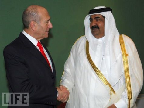 qatar israeli love
