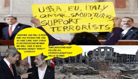 Enemies of Syria-Rome 2013