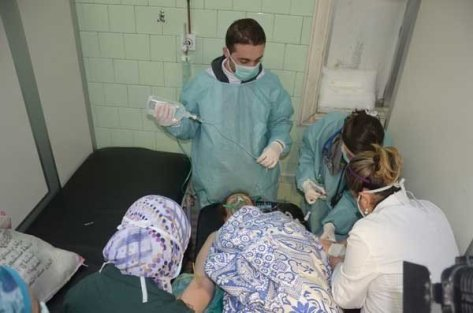25 Killed by Rocket with Chemical Materials Fired by Terrorists in Aleppo Countryside