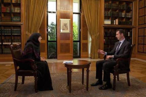 The Syrian President,Dr.Bashar al Assad ' interview on Al Manar