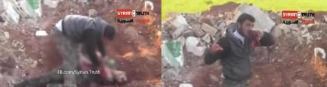 FSA -NUSRA CANNIBAL  Eats Heart of Syrian Soldier