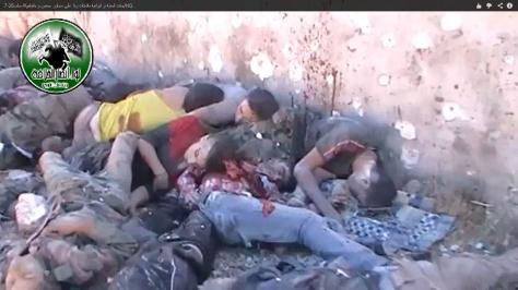 The massacre of Khan Assal