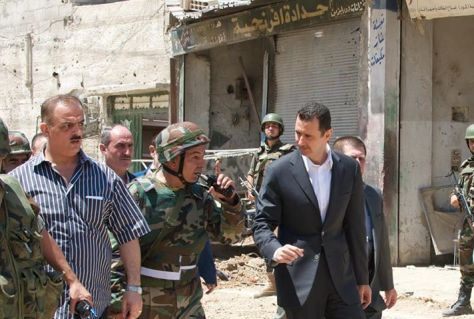 Syrian army's day-1st of August 2013