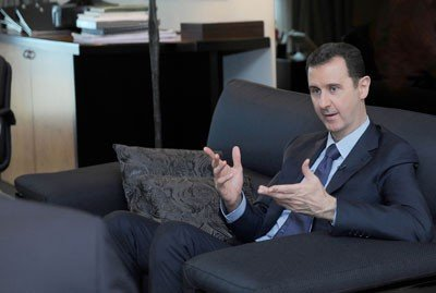 President al-Assad: Syria will never become a western puppet state, we will fight terrorism and freely build relationships that best serve the interests of the Syrians
