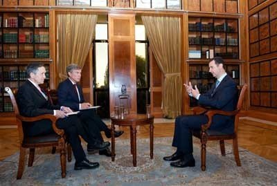 President al-Assad's interview with Fox News