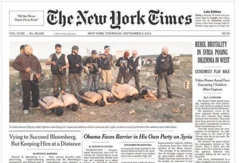 Atentie Romania-AlQaeda este inamicul nu prietenul ce trebuie ajutat in Siria!