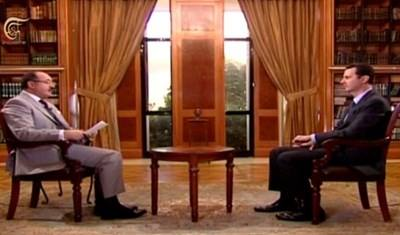 Mr President's interview on Al Mayadeen-October 2013  الرئيس الأسد لقناة الميادين: لا توجد لدينا مشكلة أن نحاور أي جهة بشرط أن تبتعد عن السلاح والإرهاب ودعوة الأجانب للتدخل في سورية