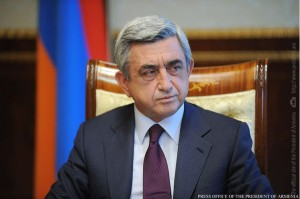 President Serge Sarkisian (Photo: Official website of the President of Armenia)