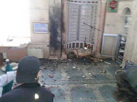Terrorists assassinate the preacher of the Grand Mosque of #Tal