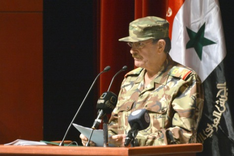 Deputy Commander-in- Chief of the Army and the Armed Forces, Defense Minister Fahd Jassem al-Freij