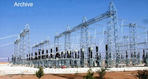 Electricity plant in Aleppo-1