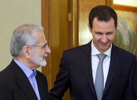 Bashar-alAssad-with-Kamal Kharrazi-1